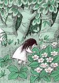 Little Girl picks flowers