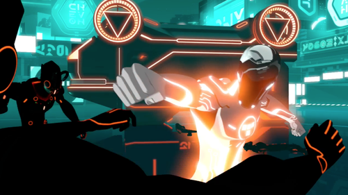 TRON Uprising Punch