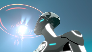 TRON Uprising Beck and Helicopter