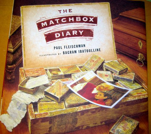 Matchbox Diary cover