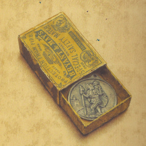 Matchbox Diary St. Christopher Medal